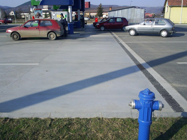 Tankstelle in TRSTENIK - SERBIA