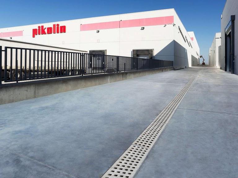 Pikolin vertraut auf ULMA-Entwässerungssysteme für sein neues Werk in Saragossa