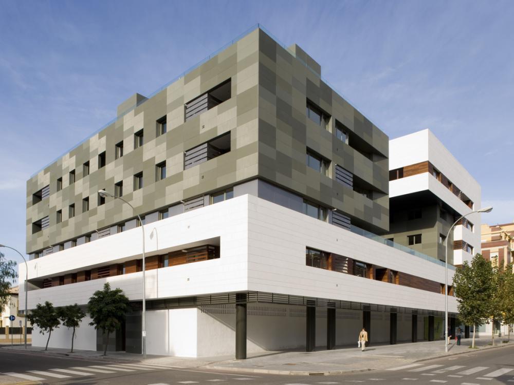 Entdecken Sie die dynamische Wirkung der ULMA-Fassaden