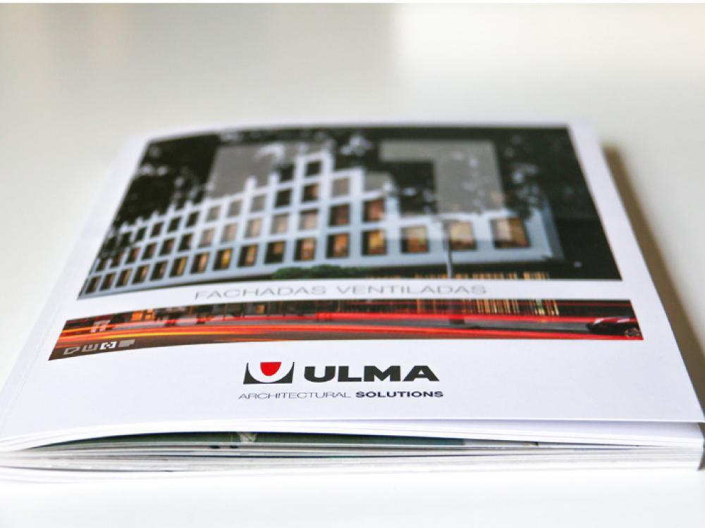 ULMA präsentiert sein neues Dossier Hinterlüftete Fassaden