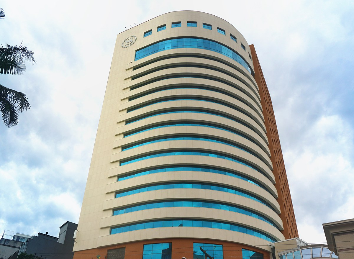 Fassadenrenovierung im Sheraton Hotel Porto Alegre, Brasilien