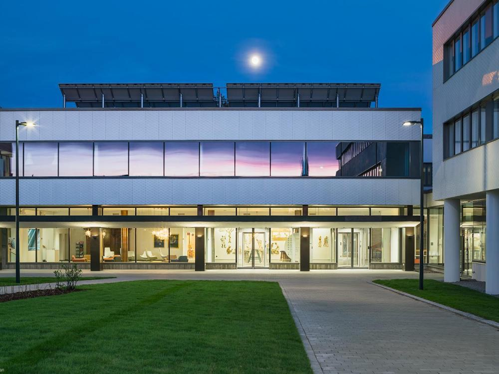 Innovatives Fassadensystem mit einer Kreativen 3D Textur in Finnland