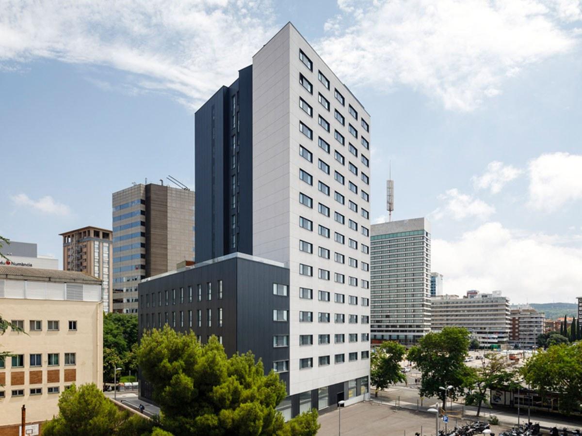Studentenwohnheim Garbí (Barcelona): eine dauerhafte, ästhetische und nachhaltige architektonische Lösung