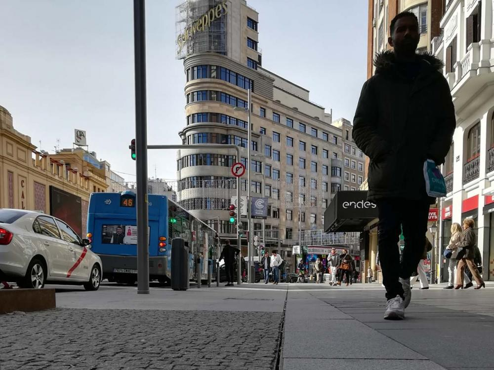 2250ml of slot drainage on the new Gran Vía Street in Madrid
