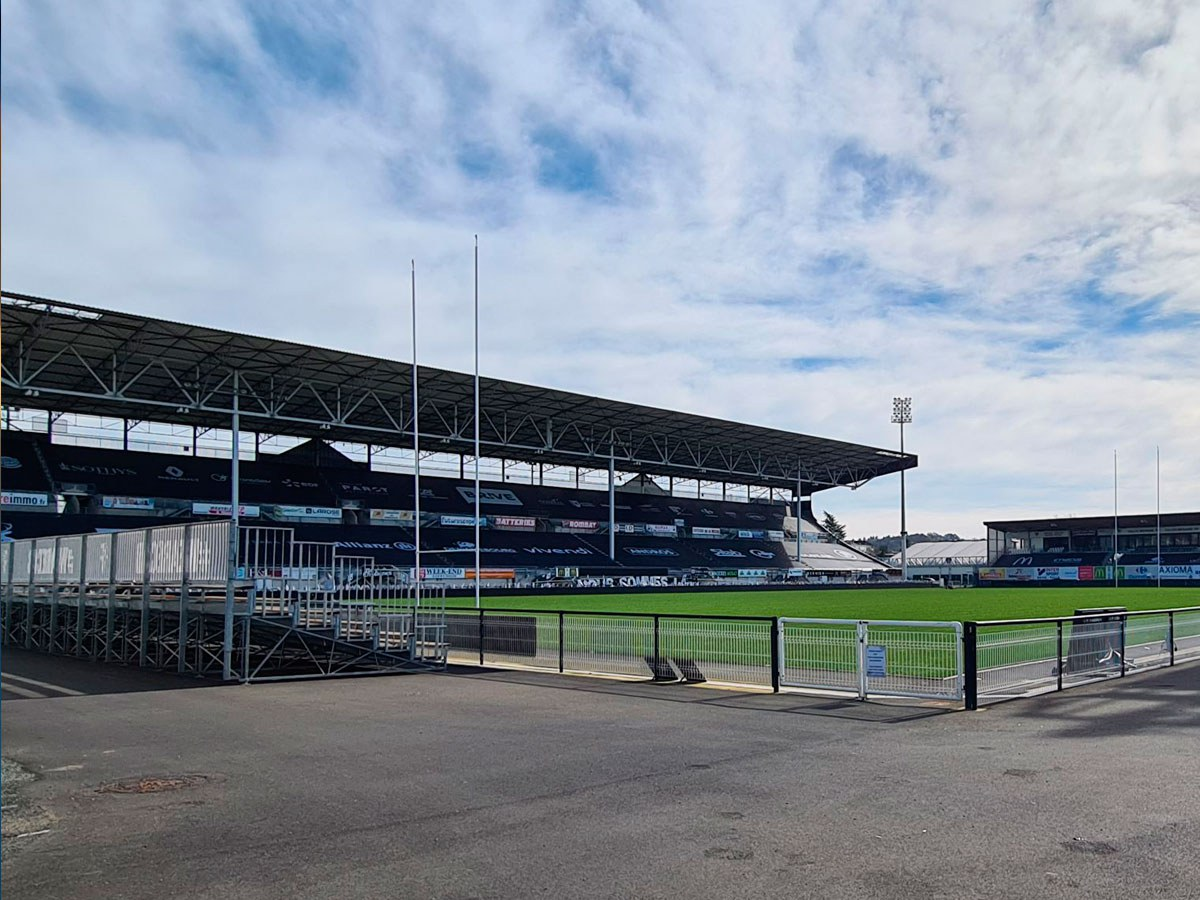 Amédée Domenech Stadium in France: the importance of what is not seen