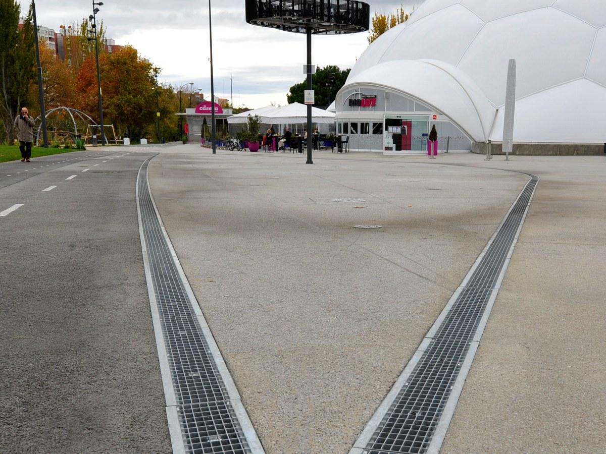 Milenium Square in Valladolid- Spain
