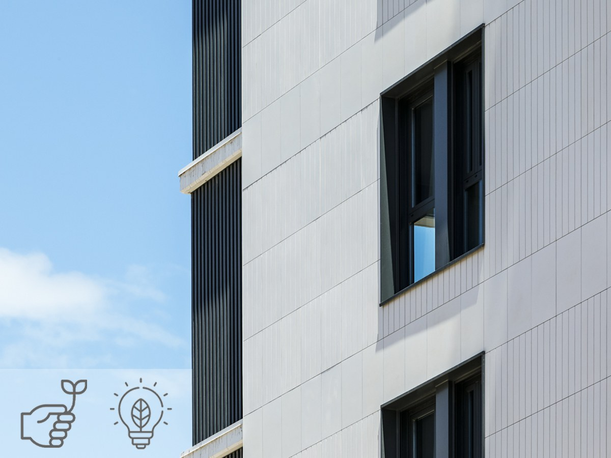 Ventilated facades reduce your building's energy consumption by up to 30%