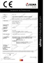 Declaration of performance - CIVIL-S Series
