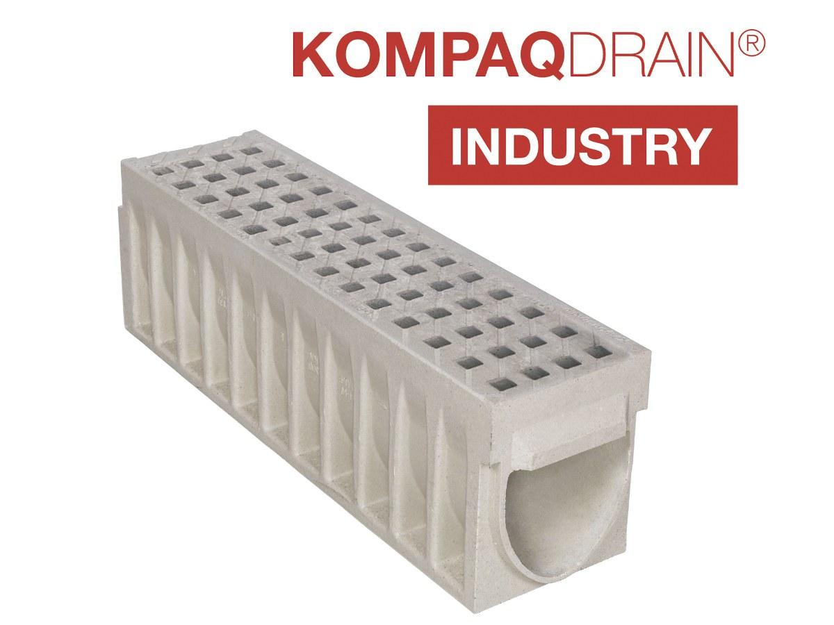 ULMA KOMPAQDRAIN INDUSTRY compact trench drain