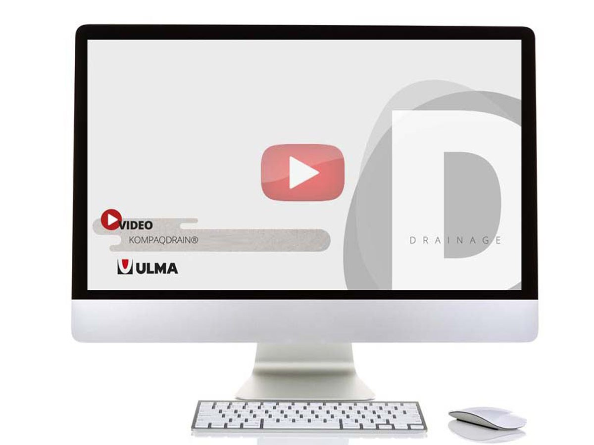 ULMA launches a new video to explain the 3 models of KOMPAQDRAIN® channels