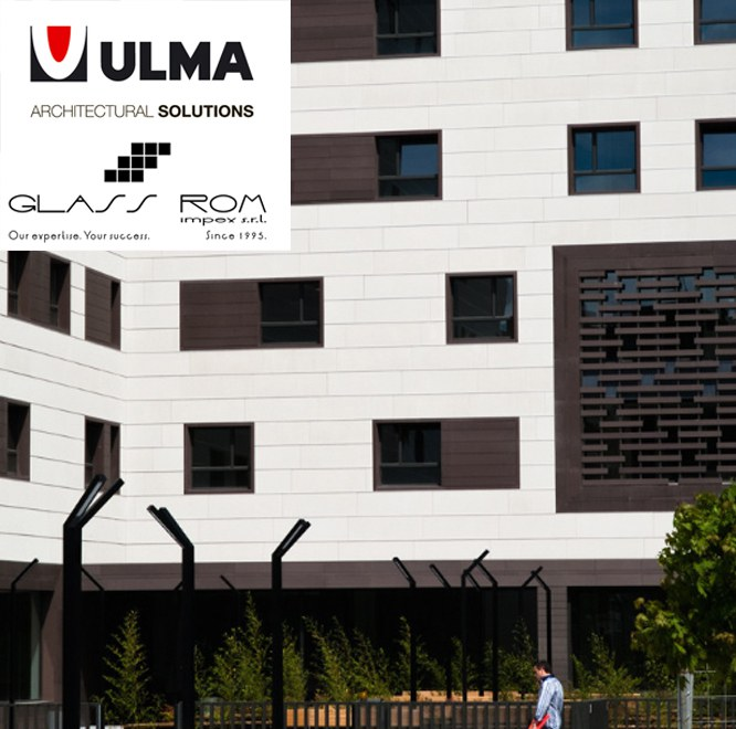 Glass Rom Impex authorized dealer of ULMA facades