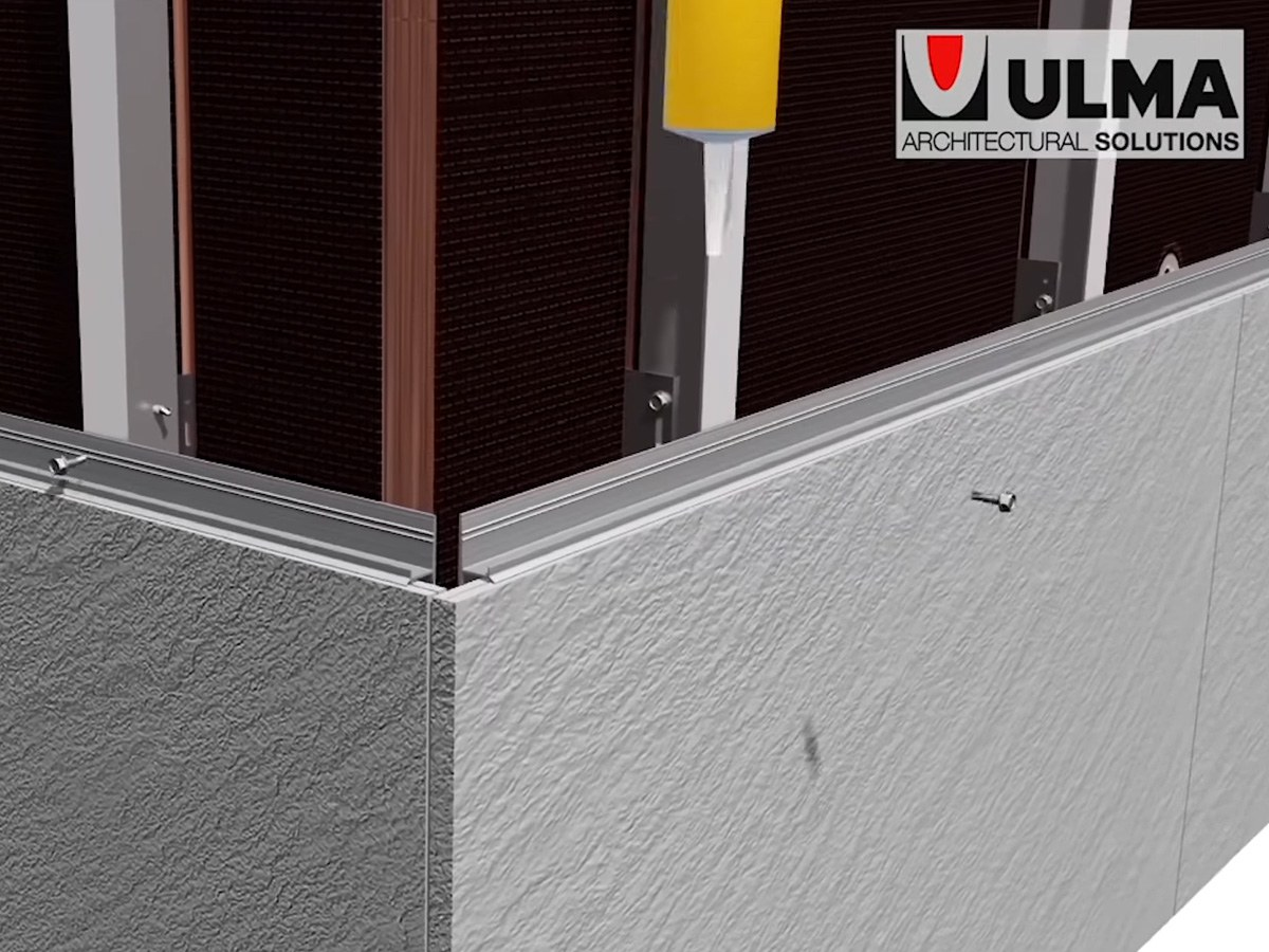 How to install a facade cladding step by step