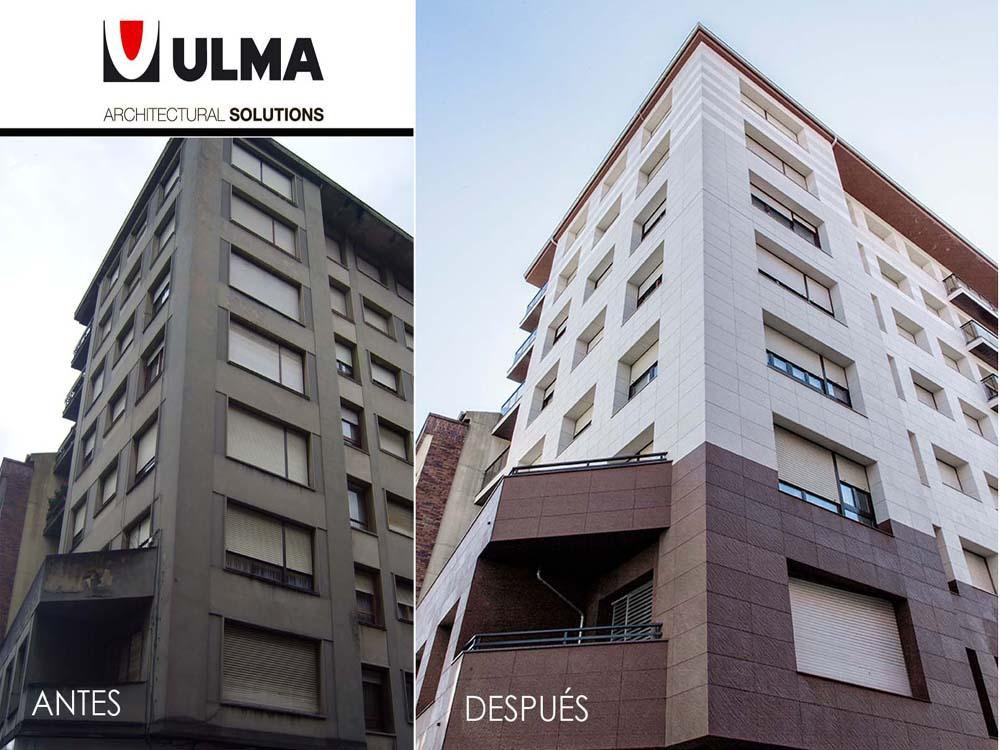 New video of the advantages of restoring facade with ULMA