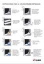 Window sills - Installation instructions