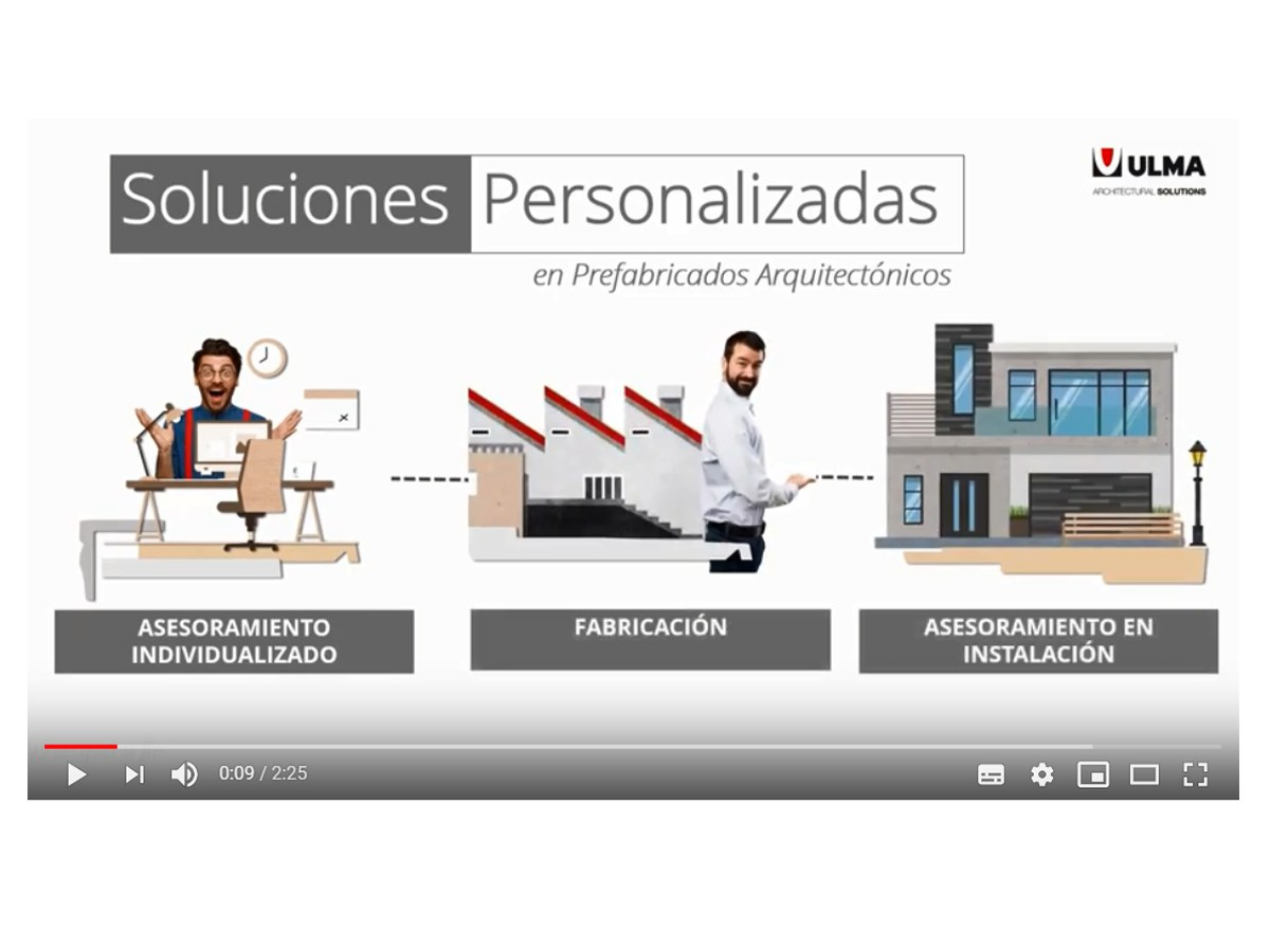 New video about the customization process of a terrace front ( Spanish version)
