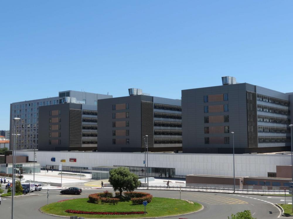 Canales ULMA en la reciente ampliación del Hospital Universitario Marqués de Valdecilla, Santander