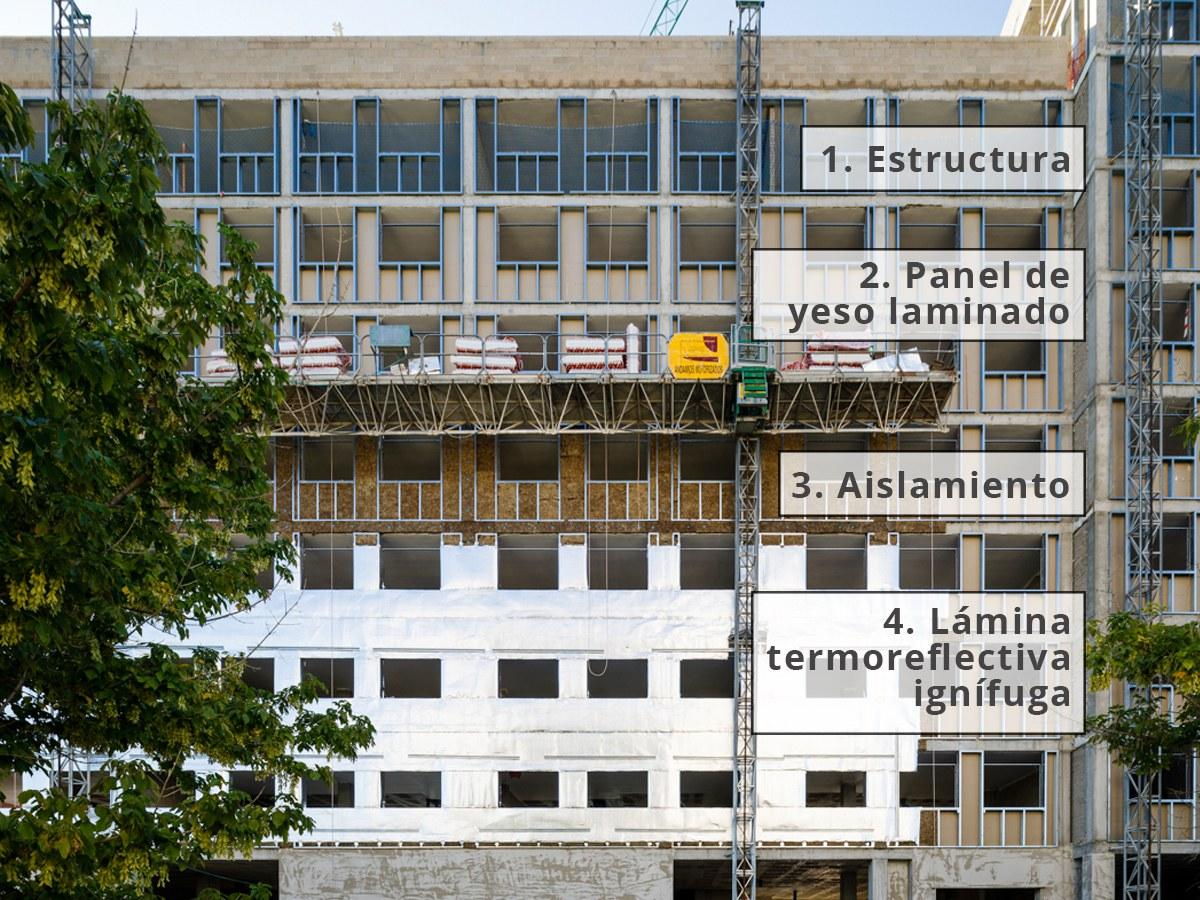 6 beneficios del cerramiento de fachada en seco