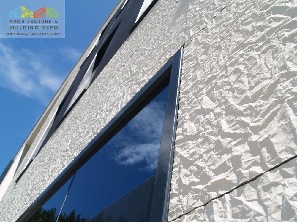 Fachadas ULMA premiado como mejor producto para exteriores en la feria Archexpo de Irlanda