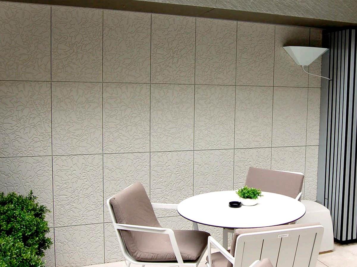 Fachada Ventilada para exterior e interior en el Hotel Catalonia