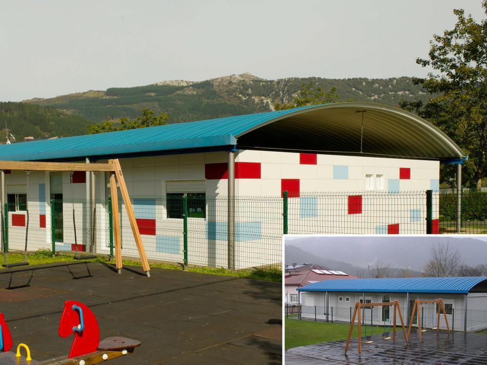 Mejora de confort  y mínimo consumo energético en la Guardería de Igorre-Bizkaia