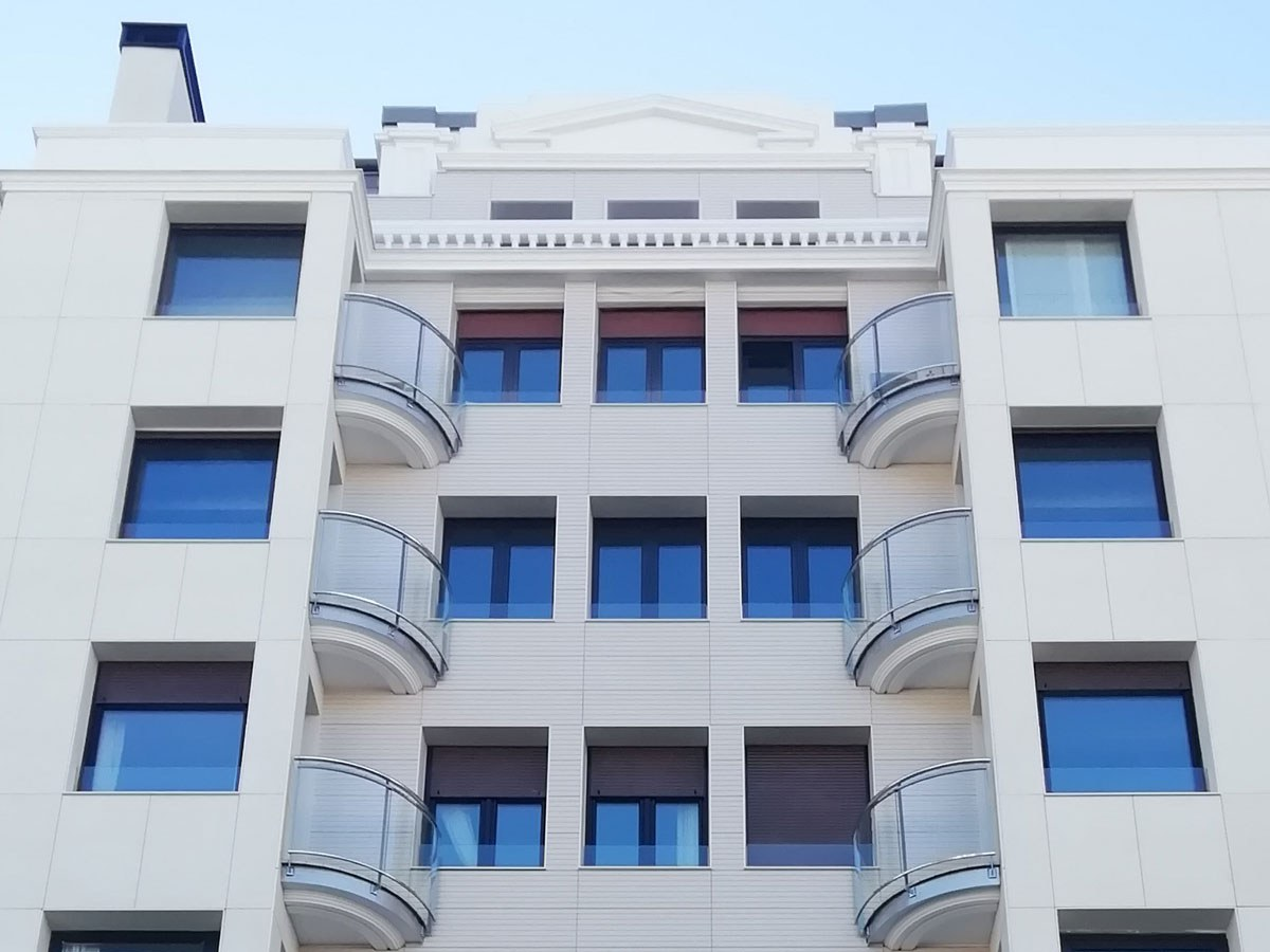 Traje a medida para este edificio catalogado de San Sebastián