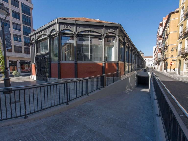 El mercado del Val cuenta con ULMA para el drenaje de sus instalaciones