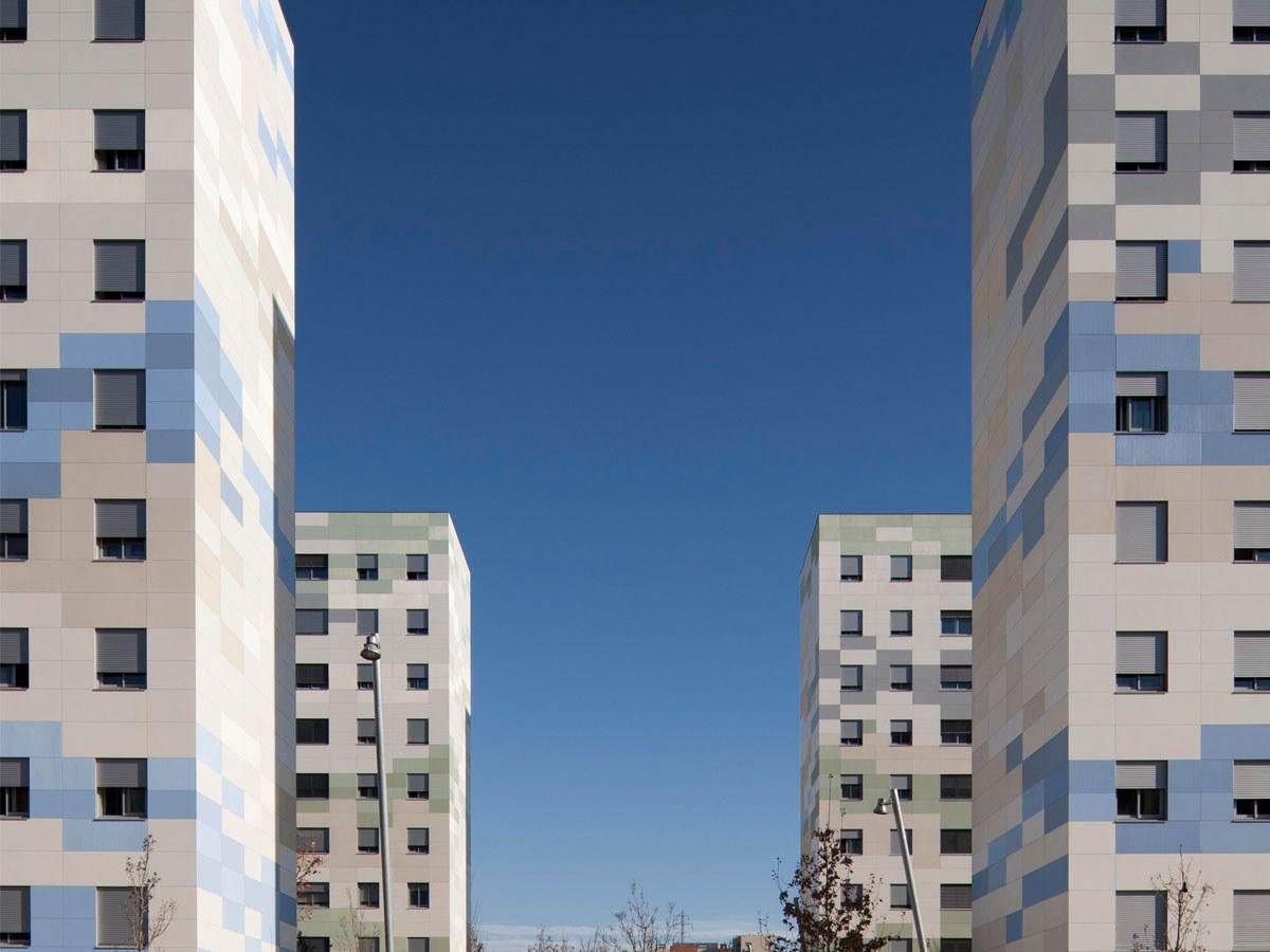 14.000 m2 de Fachada Ventilada en la Rehabilitación de FONSANTA