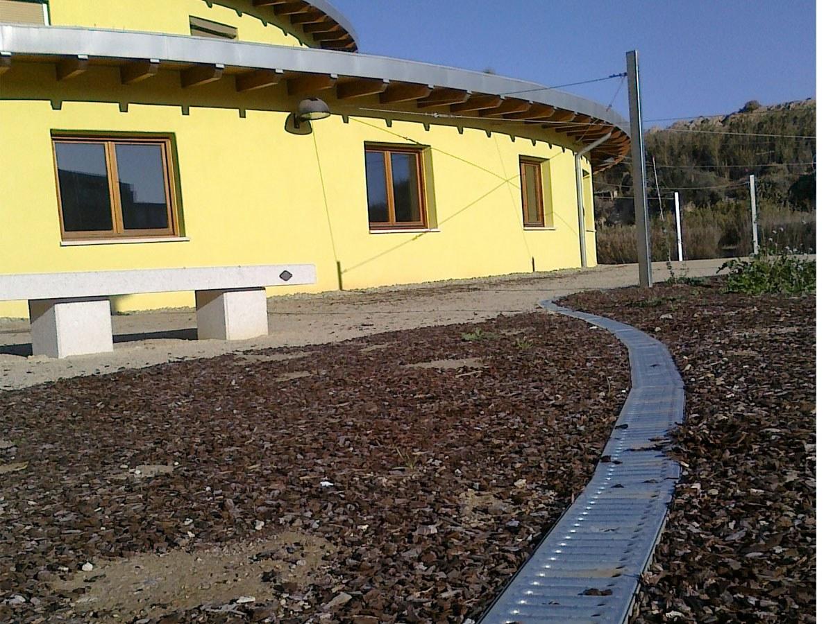 ULMA drainatze kanalak batere CO2rik isurtzen ez duen lehen eraikinean