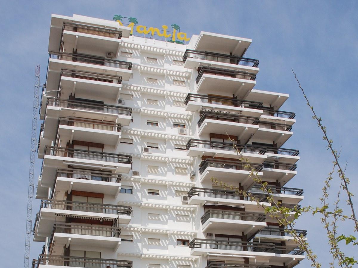 Terrazen aurrealde pertsonalizatuak, Gandiako Manila eraikinerako