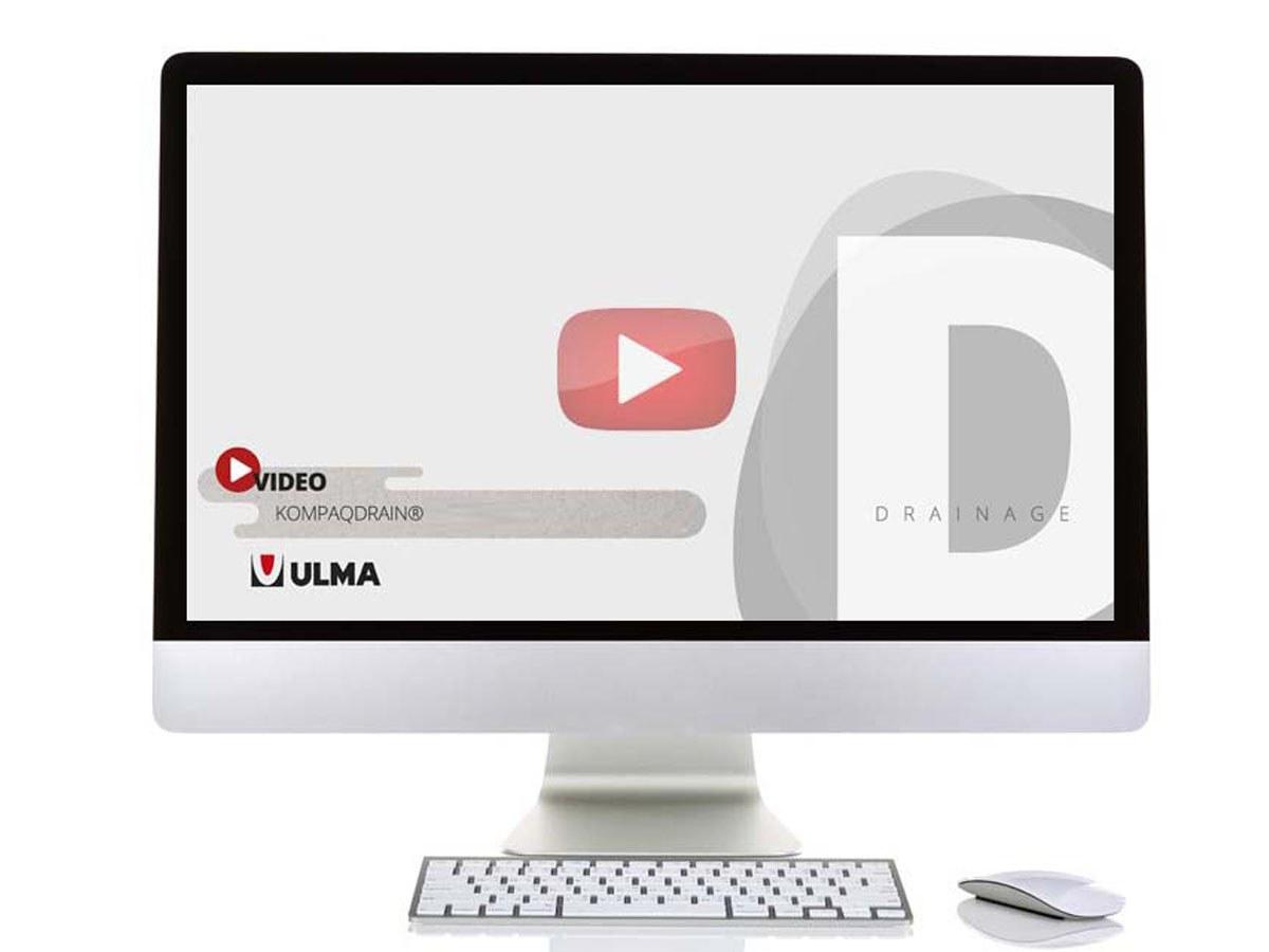 ULMA lance une nouvelle vidéo sur les 3 modèles de caniveaux KOMPAQDRAIN®