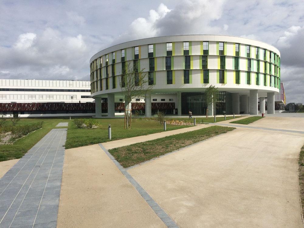 Caniveaux ULMA à l'hôpital d'Orléans