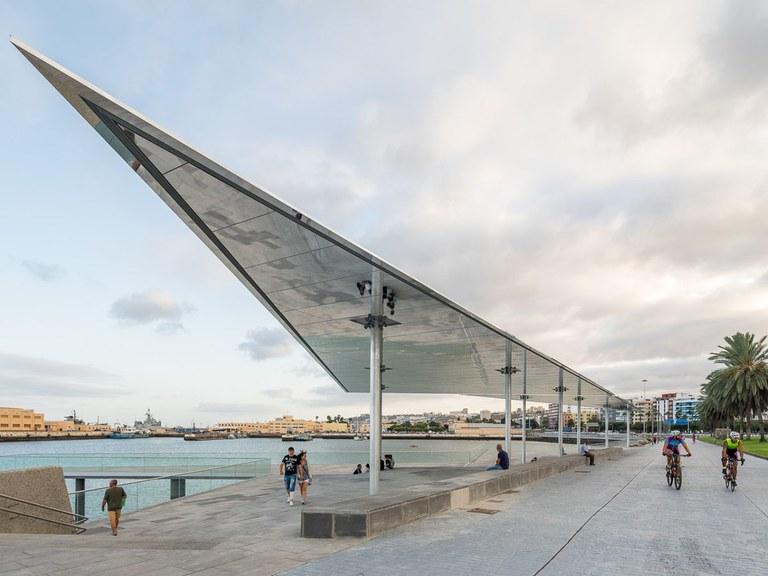Un système de drainage esthétique et linéaire pour préserver la beauté d'un site maritime