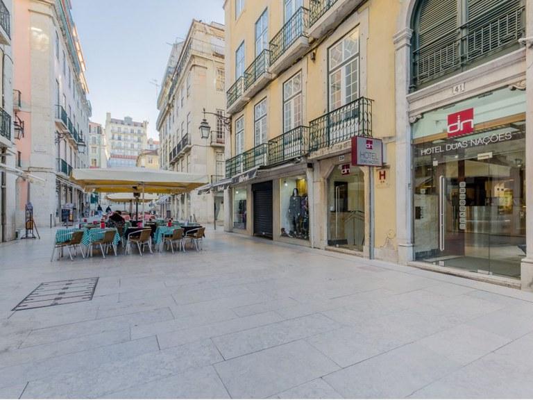 Drenaggio ULMA nella centralissima via Vitoria a Lisbona