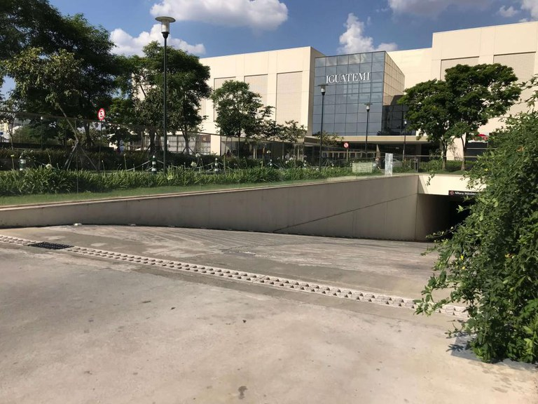 Soluzioni di drenaggio ULMA presso il centro commerciale IGUATEMI di São Paulo, Brasile