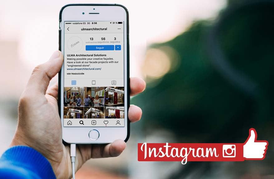 A divisão de arquitetura da ULMA lança conta no Instagram