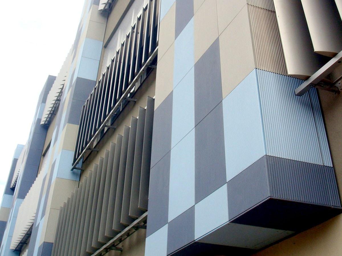 Solução técnica e estética da ULMA para o colégio Marista Champagnat