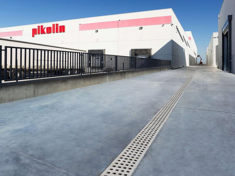 A Pikolin confía na Drenagem ULMA para sua nova fábrica em Zaragoza-Espanha