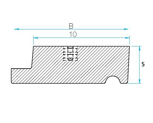Modelo DCT - B-Porca roscante